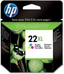 HP oryginalny wkład atramentowy / tusz 22/Tricol XL C9352CE#UUQ