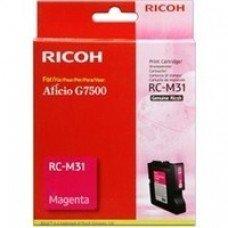 Ricoh oryginalny żelowe wypełnienie 405504. magenta. 2500s. typ RC-M31. Ricoh G7500