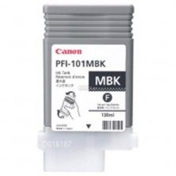Canon oryginalny wkład atramentowy / tusz PFI101 MBK. matte black. 130ml. 0882B001. ploter iPF-5000