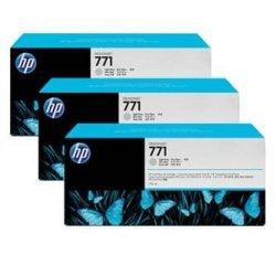 HP oryginalny wkład atramentowy / tusz CR257A. light grey. 3x775ml. No.771. HP 3-Pack. Designjet Z6200