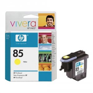 HP oryginalna głowica drukująca No85 Printhead/Fade resist yellow C9422A
