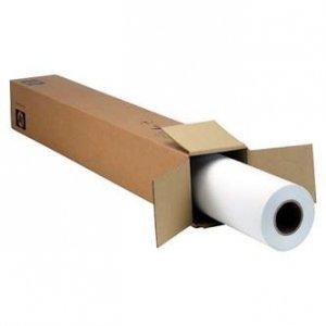 Papier do plotera HP Matte Litho-realistic Paper. 610x30.5. K6B77A. litograficzny papier. matowy. biały. do drukarek atramentowych. rolka K6B77A