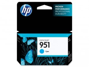HP oryginalny wkład atramentowy / tusz CN050AE. No.951. cyan. 700s. dla HP Officejet Pro 8100 ePrinter CN050AE