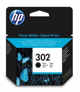 HP oryginalny wkład atramentowy / tusz blistr. F6U66AE#301. No.302. black. 190s. 3.5ml. HP OJ 3830.3834.4650. DJ 2130.3630.1010. Envy 4520 F6U66AE#301