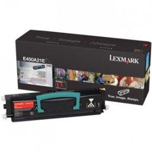 Lexmark oryginalny toner E450A21E. black. 6000s. Lexmark E450 E450A21E