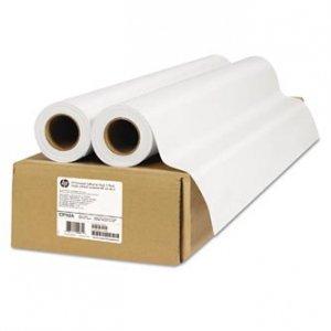 Papier do plotera HP 1067/20/Universal Adhesive Vinyl. 1067mmx20m. 42. 2-pack. C2T52A. 160 g/m2. papier. matowy. biały. do drukarek atramentowych C2T52A