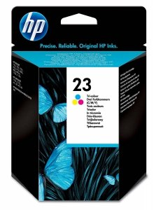 HP oryginalny wkład atramentowy / tusz HP 23XL Tri-color C1823D