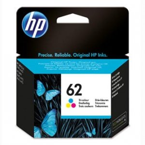 HP oryginalny ink C2P06AE, HP 62, color, 165s, HP ENVY 5540 AIO, 5640 AIO, 7640 AIO, OJ 5740 AIO C2P06AE