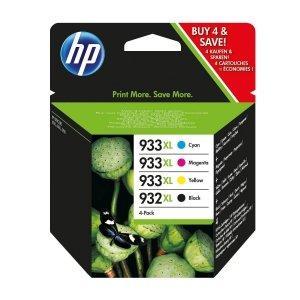 HP Tusz 932XL Blck/933XL Cy/Ye/Ma 4 Pack C2P42AE