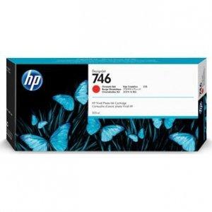HP oryginalny ink P2V81A, HP 746, chromatic red, 300ml, HP HP DesignJet Z6, Z9+ P2V81A