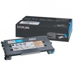 Lexmark oryginalny toner C500H2CG. cyan. 3000s. return. Lexmark C500. X500 C500H2CG