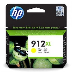 HP oryginalny ink 3YL83AE, HP 912XL, yellow, 825s, high capacity, HP Officejet 8012, 8013, 8014, 8015 Officejet Pro 802 3YL83AE