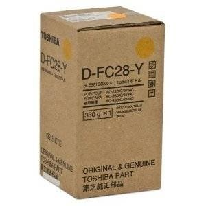 Toshiba oryginalny Developer D-FC28-Y, 6LE98164000, yellow, Toshiba E Studio  2330C/2820C/2830C/3520C/3530C/4520C D-FC28-Y