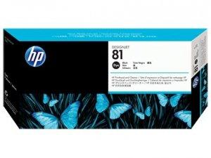 HP oryginalna głowica drukująca C4950A. No.81. black. HP DesignJet 5000. PS. UV. 5500. PS. UV C4950A