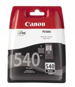 Canon oryginalny wkład atramentowy / tusz PG540. black. 180s. 5225B004. blistr z ochroną. Canon Pixma MG2150. 3150 5225B004