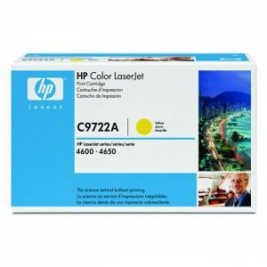 HP oryginalny toner C9722A. yellow. 8000s. 641A. HP Color LaserJet 4600. N. DN. DTN. HDN. 4650 C9722A