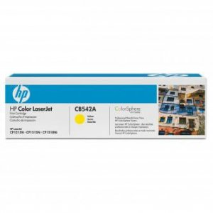 HP oryginalny toner CB542A. yellow. 1400s. 125A. HP Color LaserJet CP1215. 1515. 1518 CB542A