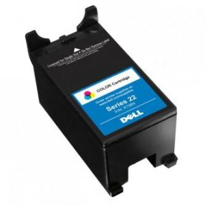 Dell oryginalny wkład atramentowy / tusz 592-11329. X738N. color. 340s. high capacity. Dell V313. V313W 592-11329