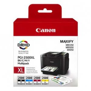 Canon oryginalny wkład atramentowy / tusz PGI-2500XL Maxify Value Pack XL Cart 9254B004