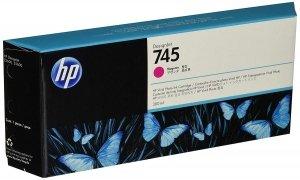 HP Wkład atramentowy 745 300-ml Magenta F9K01A