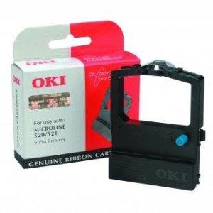 OKI oryginalna taśma do drukarki. 9002315. czarna. OKI 520. 521 9002315