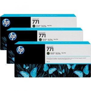 HP oryginalny wkład atramentowy / tusz CR250A. matte black. 3x775ml. HP 771. HP 3-Pack. Designjet Z6200 CR250A