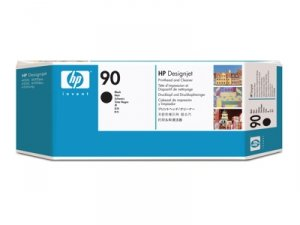 HP oryginalna głowica drukująca C5054A. No.90. black. HP DesignJet 4000. 4000ps. 4500 C5054A