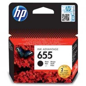 HP oryginalny wkład atramentowy / tusz CZ109AE#BHK. No.655. black. 550s. HP Deskjet tusz Advantage 3525. 5525. 6525. 4615 e-AiO CZ109AE#BHK