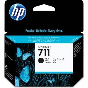 HP 711 Black 38 ml. oryginalny wkład atramentowy / tusz do plotera Designjet T120/T520 czarny CZ129A