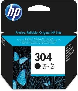 HP Wkład atramentowy 304 Black N9K06AE#BA3