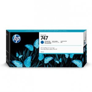 HP oryginalny ink P2V85A, HP 747, chromatic blue, 300ml, HP HP DesignJet Z9 P2V85A