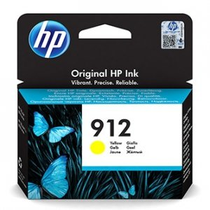 HP oryginalny ink 3YL79AE, HP 912, yellow, 315s, high capacity, HP Officejet 8012, 8013, 8014, 8015 Officejet Pro 802 3YL79AE
