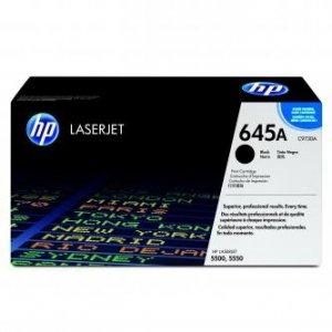 HP oryginalny toner C9730A. black. 13000s. 645A. HP Color LaserJet 5500. N. DN. HDN. DTN C9730A