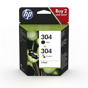 HP Tusz 304 Ink Cartridge Combo 2-Pack 3JB05AE