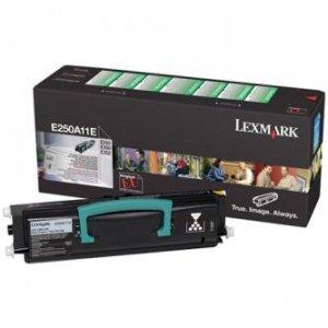 Lexmark oryginalny toner E250A11E. black. 3500s. return. Lexmark E250. E35x E250A11E