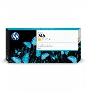 HP Tusz 746 300-ml Yellow Ink Cartridge P2V79A