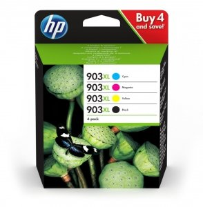 HP Tusz Ink/903XL High Yield C/M/Y/K 4-pack 3HZ51AE