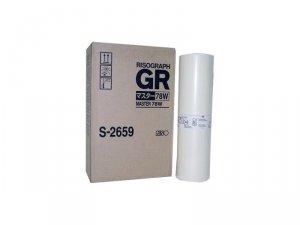 Riso oryginalny matryca S-2659. Riso GR 3770 typ  77 W. A3. cena za 1 sztukę S-2659