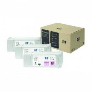 HP oryginalny wkład atramentowy / tusz C5077A. No.83. light magenta. 3x680ml. 3szt. HP DesignJet 5000. PS. 5500. PS C5077A