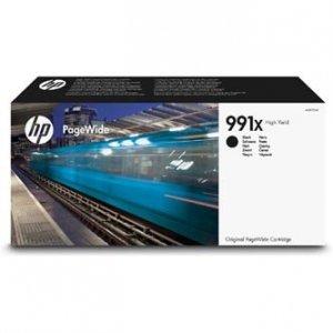 HP oryginalny ink M0K02AE, HP 991X, black, 20000s, 375ml, HP HP PageWide Pro 750dw, MFP 772dn, MFP 777z M0K02AE