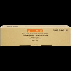 Utax oryginalny toner 4441610016. yellow. 8000s. Utax CLP 3416. 3520. 3524. 4416. 4520. 4524. TA4416 4441610016