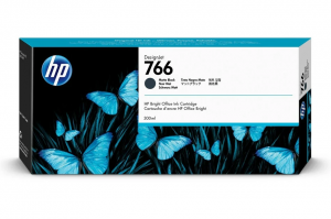 HP Atrament 766 300-ml Matte Black Ink Crtg P2V92A
