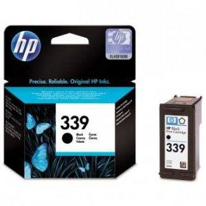 HP oryginalny wkład atramentowy / tusz C8767EE. No.339. black. 800s. 21ml. HP Photosmart 8150. 8450. OJ-7410. DeskJet 5740 C8767EE
