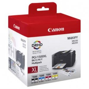 Canon oryginalny wkład atramentowy / tusz PGI-1500XL Maxify Value Pack XL Cart 9182B004
