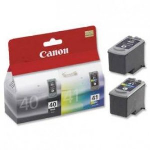 Canon oryginalny wkład atramentowy / tusz PG40/CL41 multipack. black/color. 16.9ml. 0615B043. Canon iP1600. 2200. MP150. 170. 450 0615B043