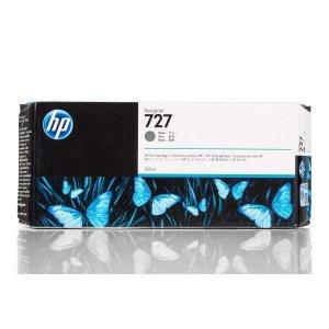 HP oryginalny wkład atramentowy / tusz F9J80A. No.727. grey. 300ml. HP DesignJet T1530. T2530. T930 F9J80A