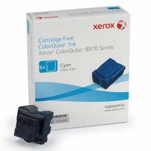Xerox oryginalny wkład atramentowy / tusz 108R00954. cyan. 17300s. Xerox ColorQube 8870. Europa Zachodnia 108R00954