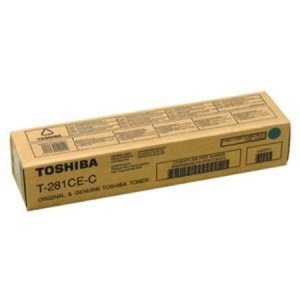 Toshiba oryginalny toner T281CEC. cyan. 10000s. Toshiba e-Studio 281c. 351e. 451e 6AK00000046