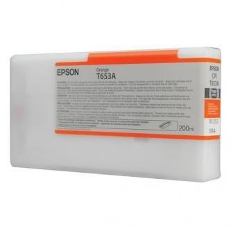 Epson oryginalny wkład atramentowy / tusz C13T653A00. orange. 200ml. Epson Stylus Pro 4900 C13T653A00