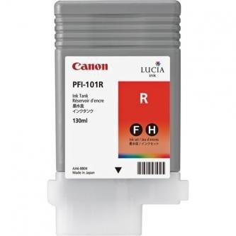 Canon oryginalny wkład atramentowy / tusz PFI101 Red. red. 130ml. 0889B001. ploter iPF-5000